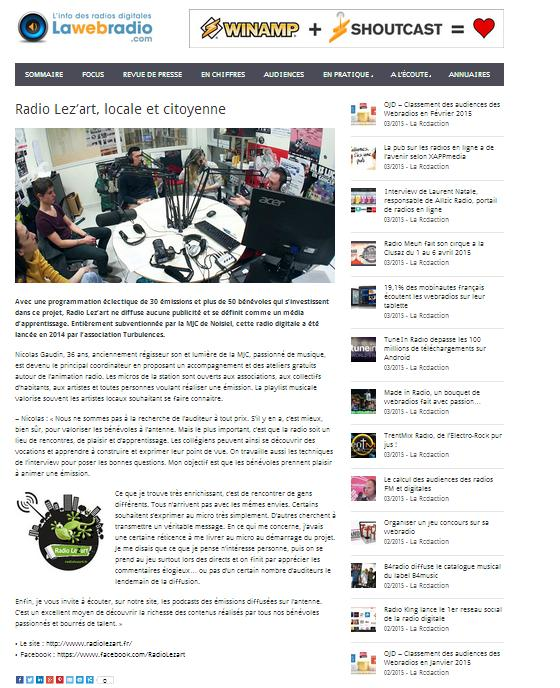 article lawebradio