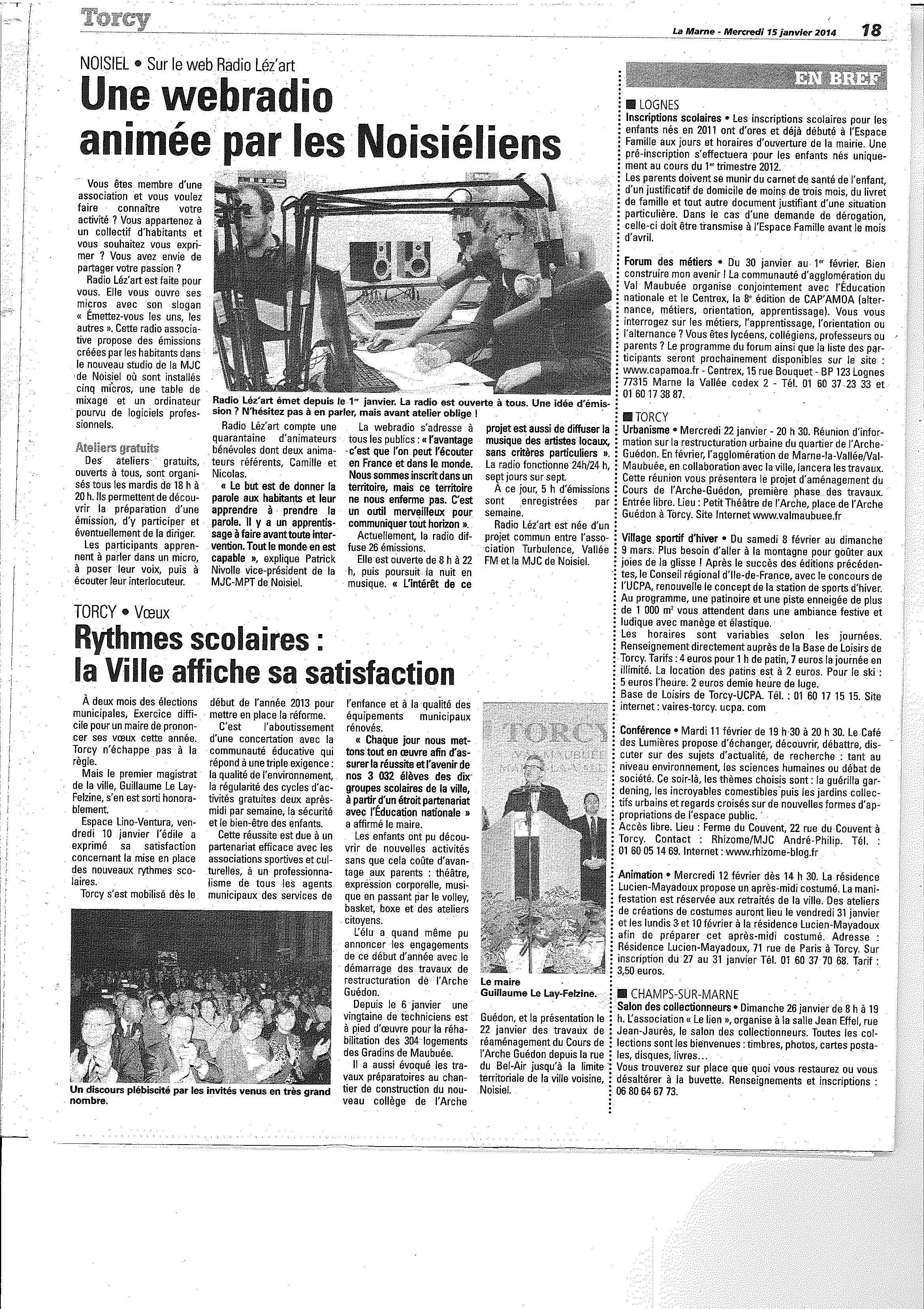radiolezart la marne janvier 2014